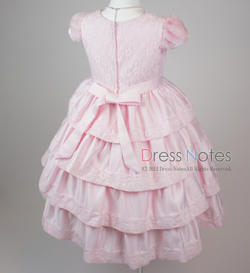 子供ドレス「バラード」ピンク D8019-9
