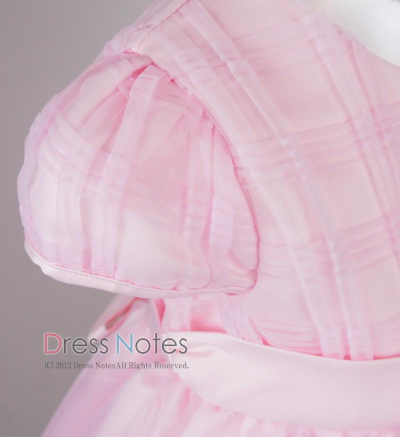 子供ドレス「カノン」ピンク D8012-3