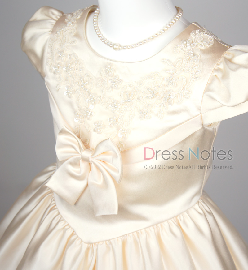 子供ドレス「ウノ」アイボリー G8003-1