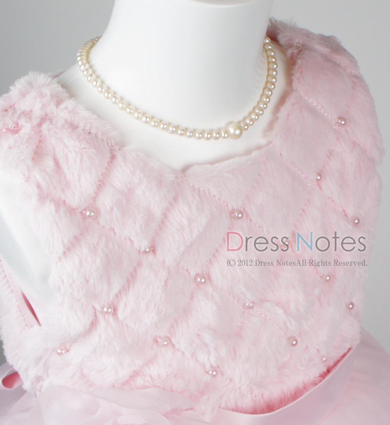 子供ドレス「アルパカドリーム」ピンク G8009-1