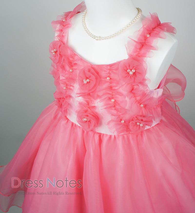 子供ドレス「アイベル」ピンク G8008-1