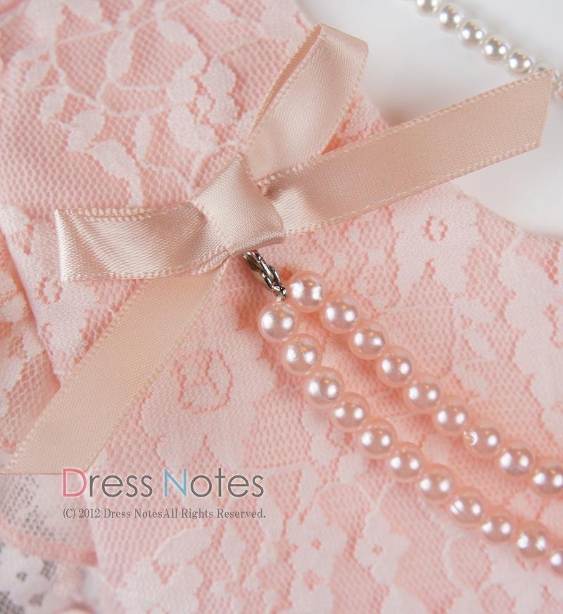 子供ドレス「アントワネット」ピンク D8011-3