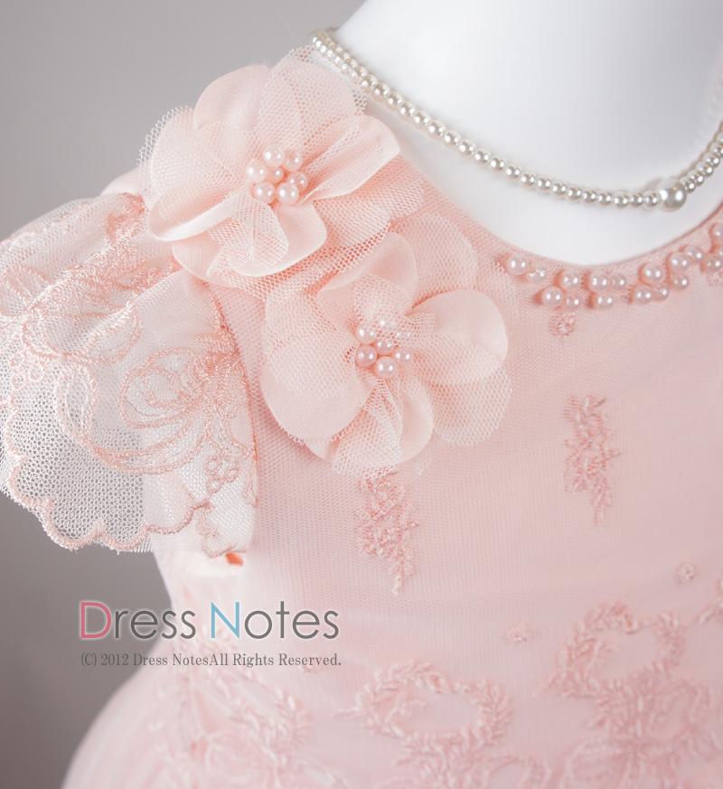 子供ドレス「パガテル」ピンク D8023-2