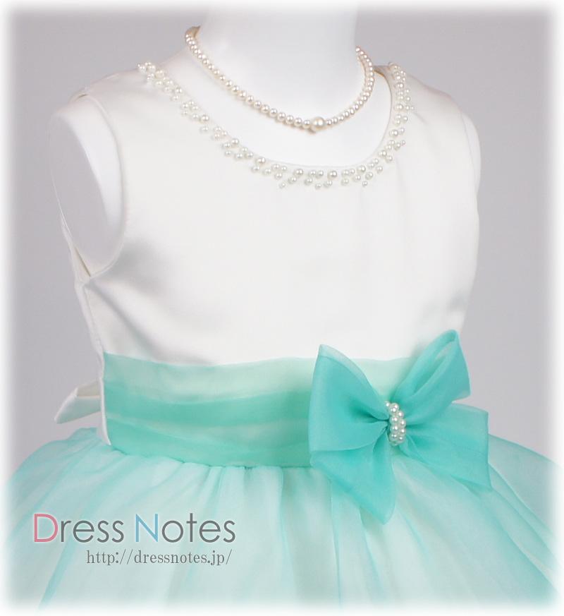 子供ドレス「バダジェフスカ」グリーン G8030-3