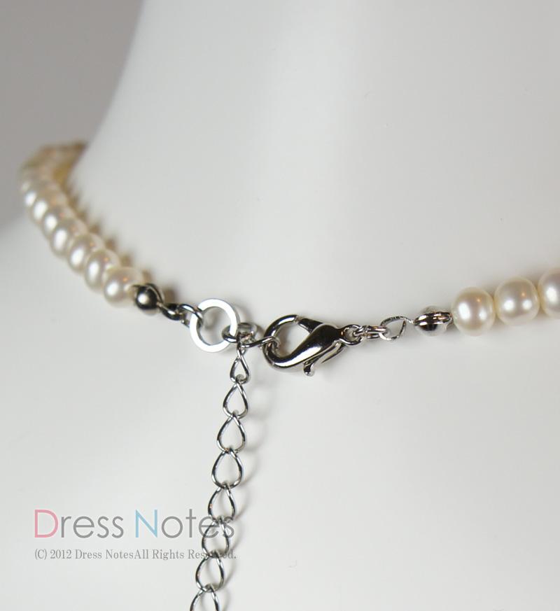 淡水真珠ネックレス「ミューズ」36cm L0001-3