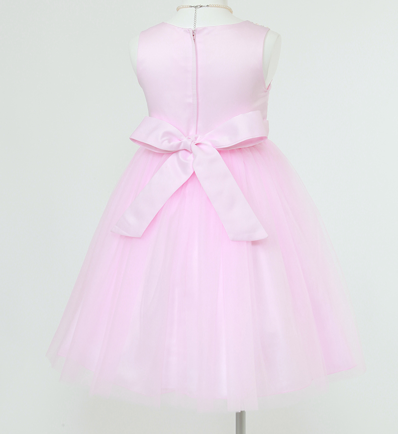 子供ドレス「エチュード」ピンク P2001-3