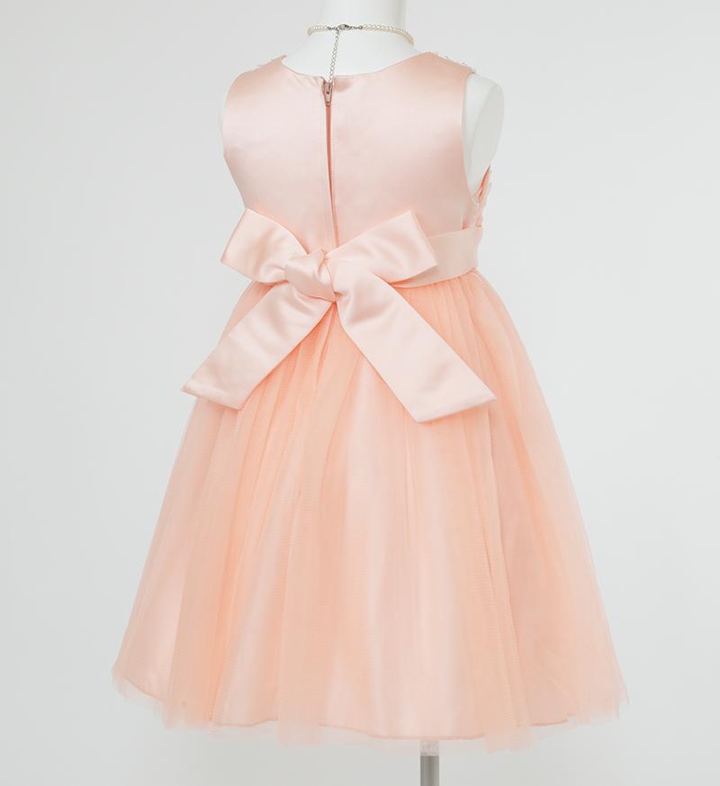 子供ドレス「エチュード」オレンジ P2004-3