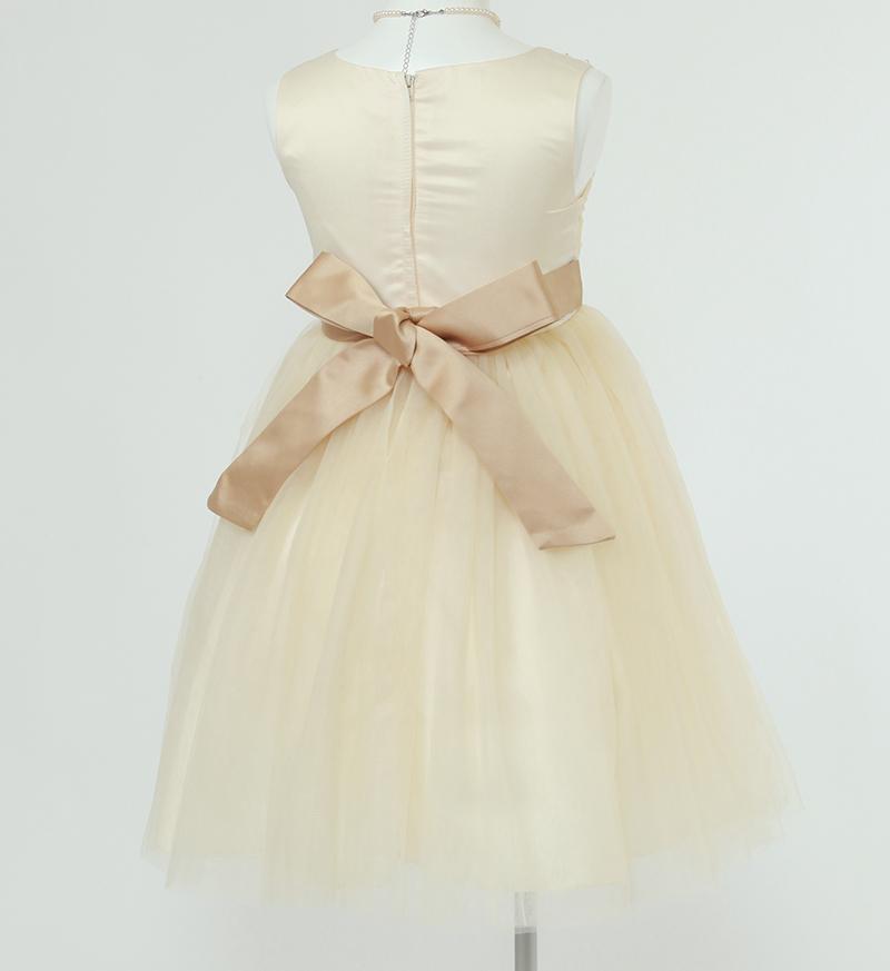 子供ドレス「エチュード」シャンパンゴールド P2005-3