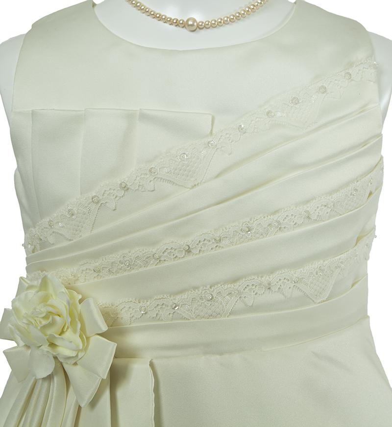 子供ドレス「ノクターン」パールホワイト-3
