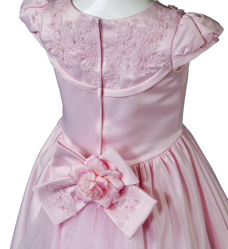 子供ドレス「ウノ2」ピンク G8002_2-3
