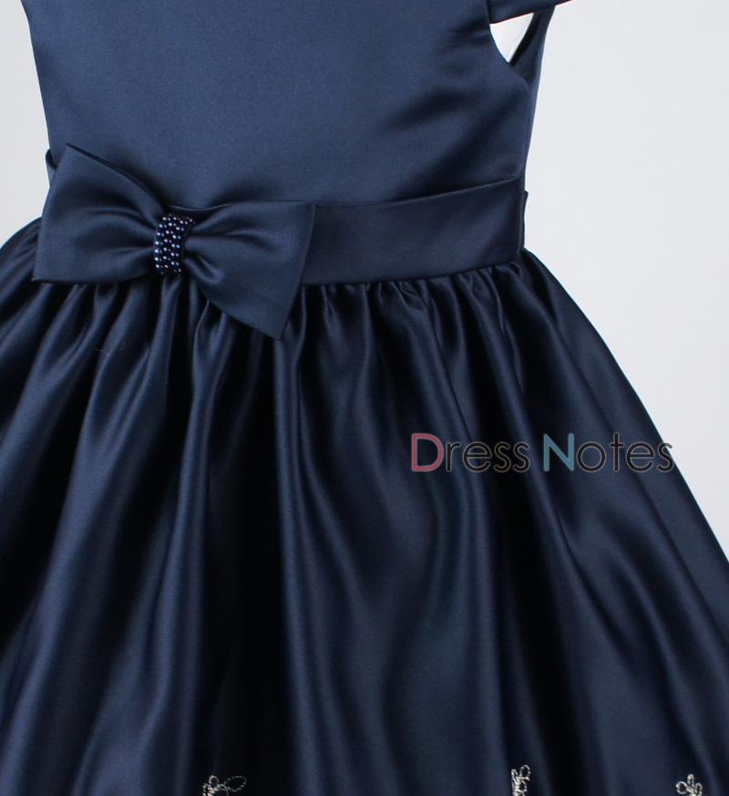 子供ドレス「マスカレード」ネイビー D8020-3