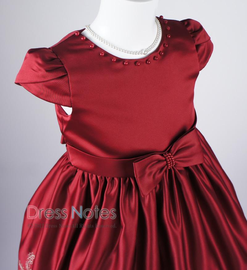 子供ドレス「マスカレード」ワイン D8021-1