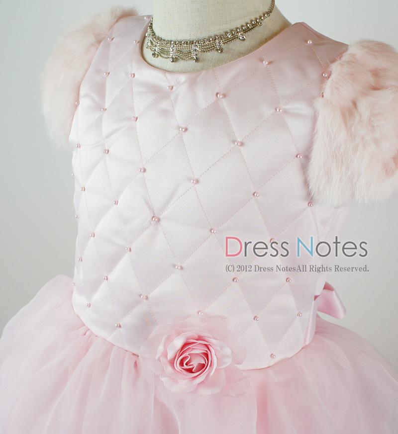 子供ドレス「カンタータ」 ピンク D8004-1