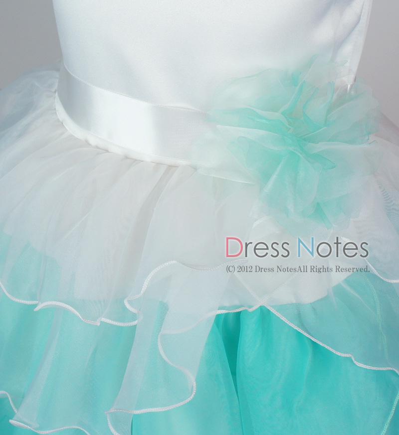 子供ドレス「アリア」ミントグリーン D8007-2