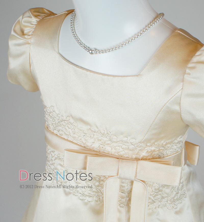 子供ドレス「オラトリオ」アンティックホワイト D8009-2