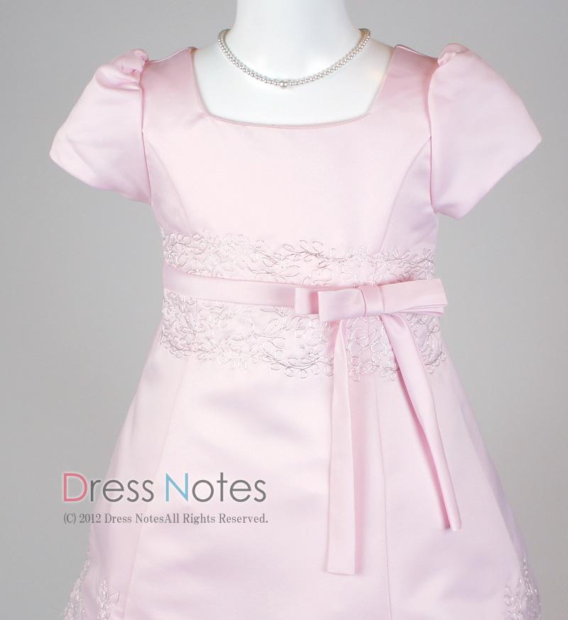 子供ドレス「オラトリオ」ピンク D8010-1