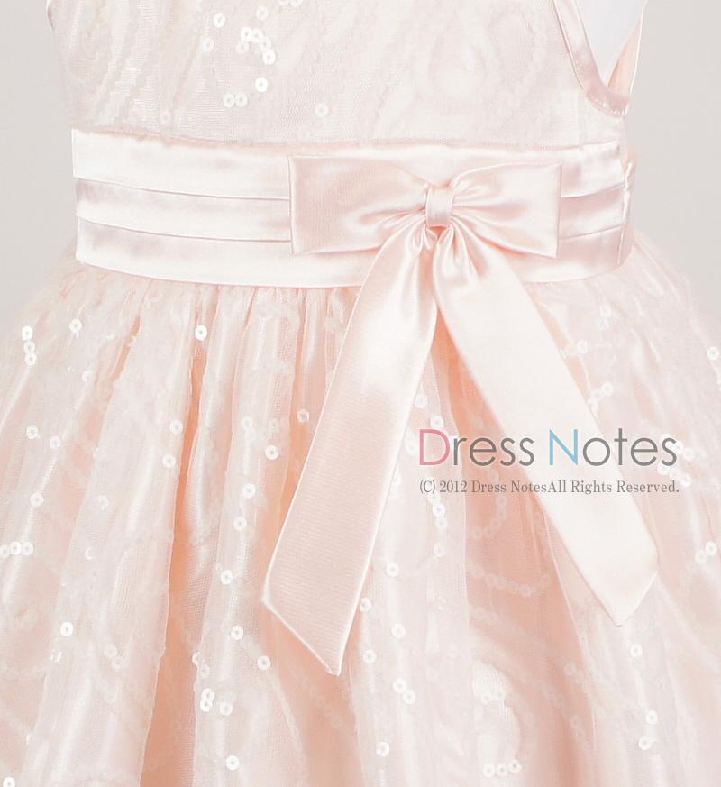 子供ドレス「オーロラ」ピンク I8003-2