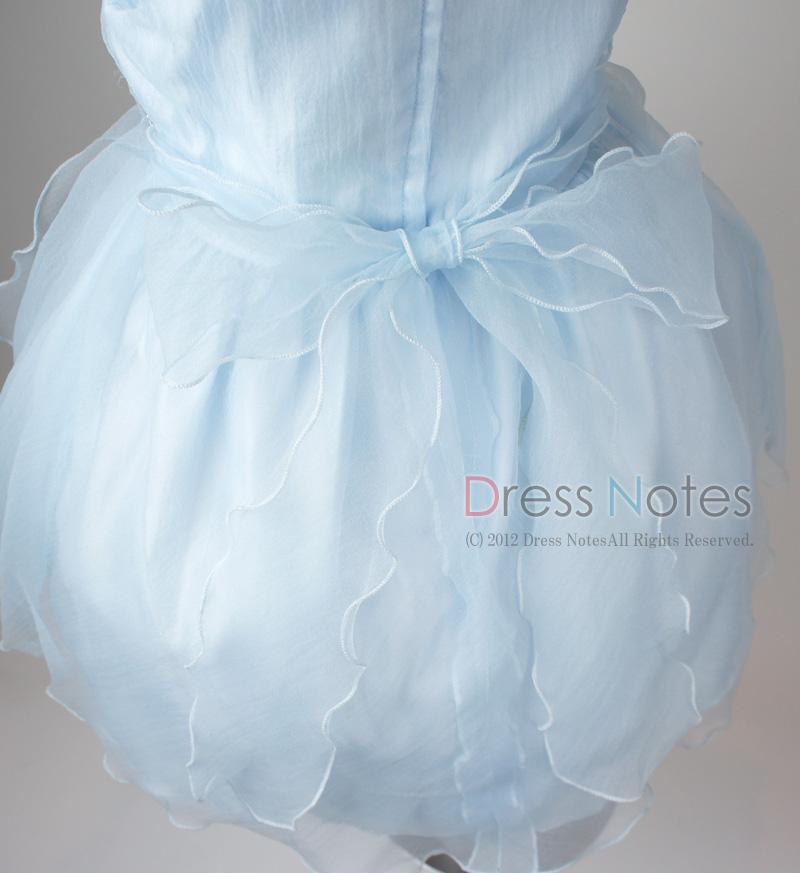 子供ドレス「スカルラッティ」ブルー G8001-3