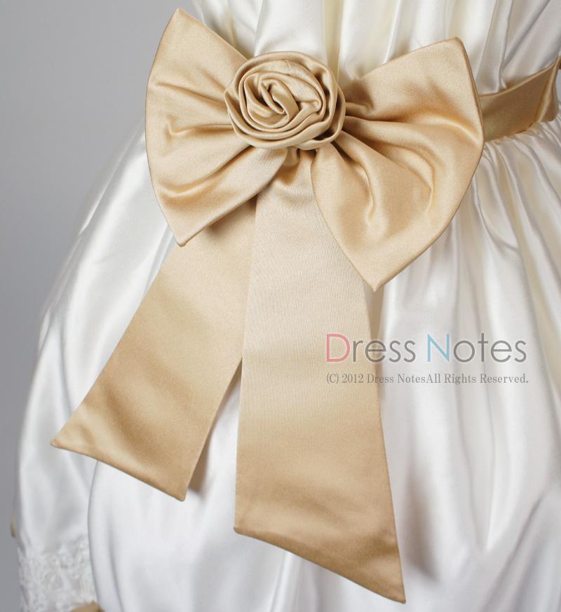 子供ドレス「コーラス」クリーム H8010-3