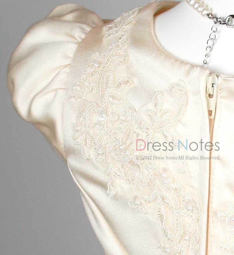 子供ドレス「ウノ」アイボリー G8003-2