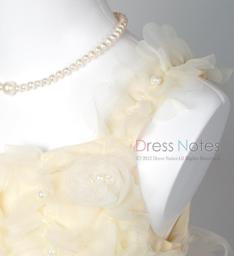 子供ドレス「アイベル」ライトレモン G8007-2