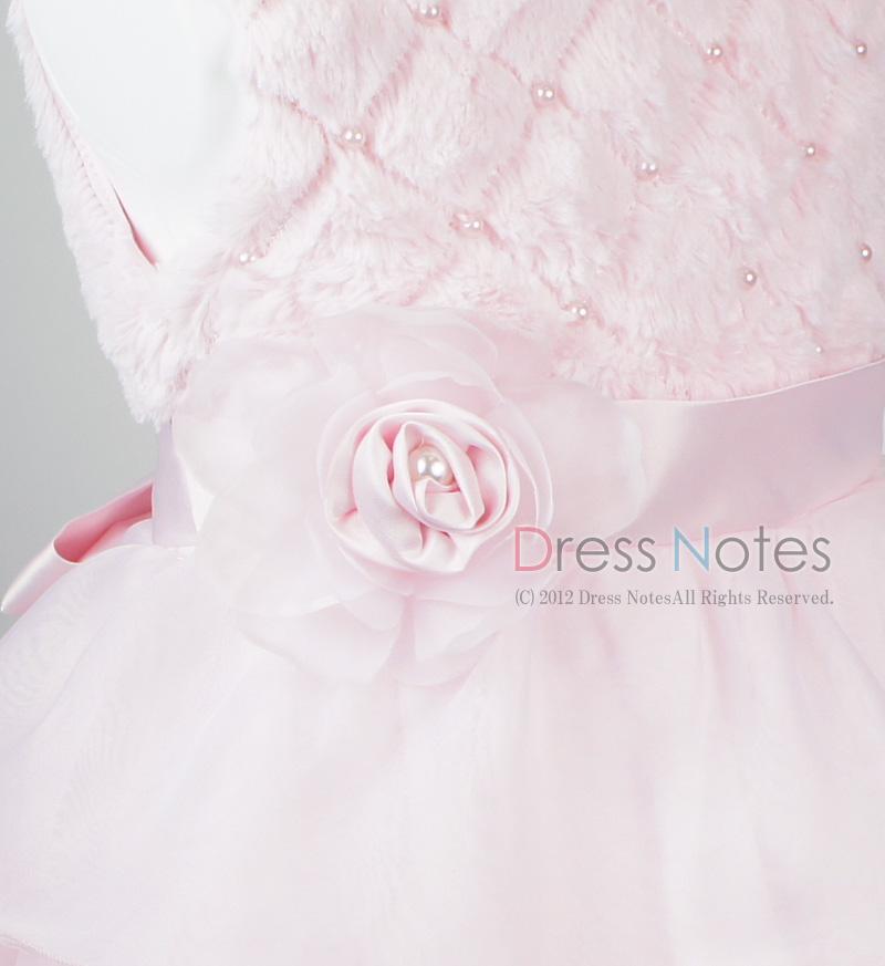 子供ドレス「アルパカドリーム」ピンク G8009-2