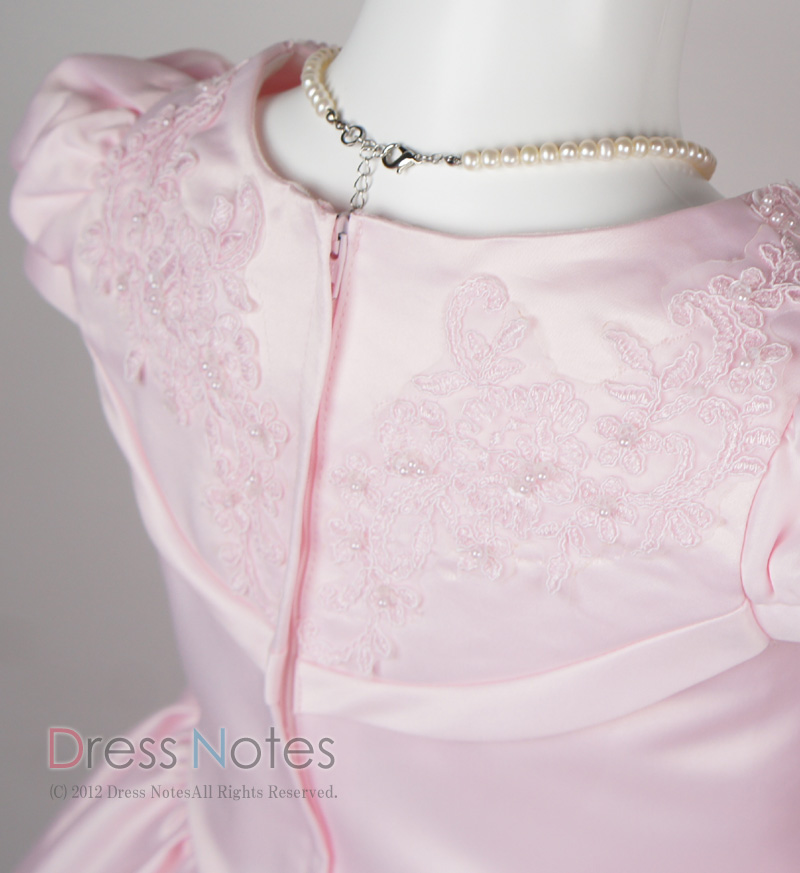 子供ドレス「ウノ」ピンク G8002-3