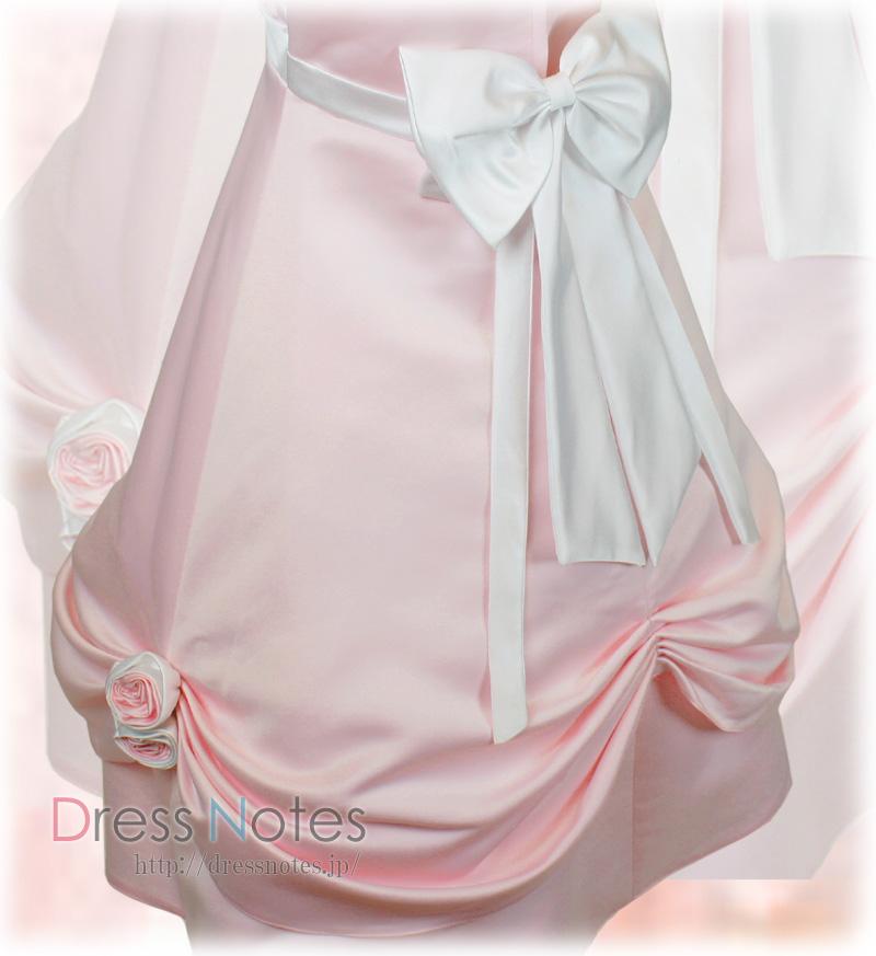 子供ドレス「シャンデリア」ピンク H8012-3