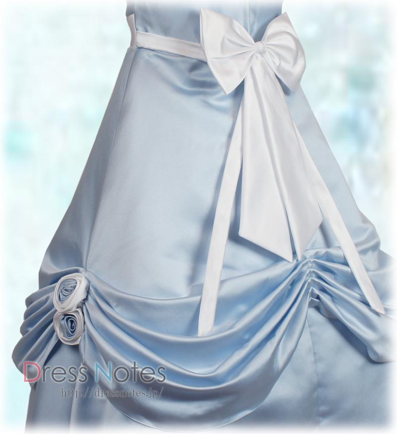 子供ドレス「シャンデリア」ブルー H8013-2