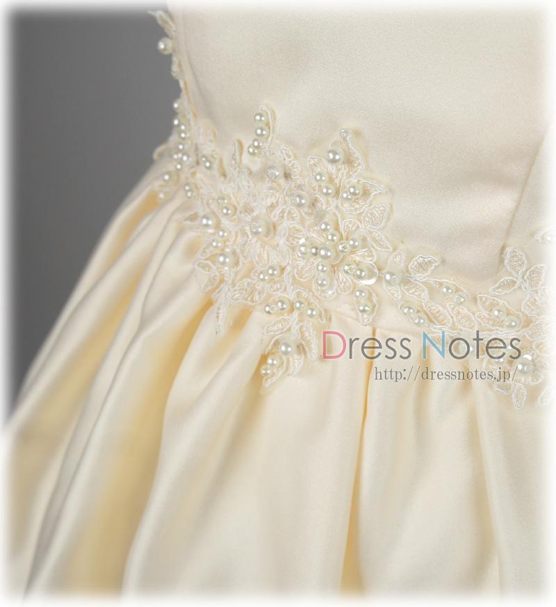 子供ドレス「ファンテーヌ」アイボリー G8015-2