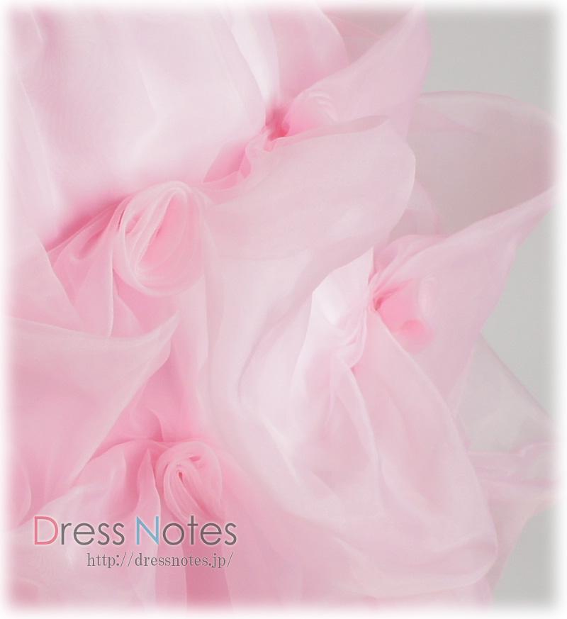 子供ドレス「ハーモニック」ピンク H8014-2