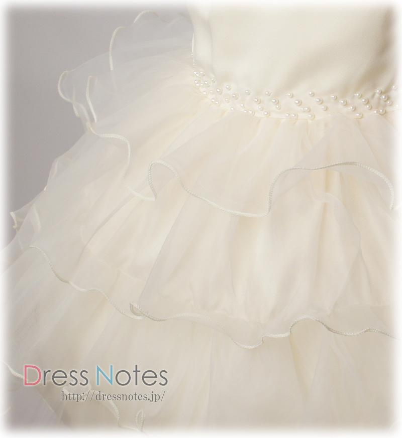 子供ドレス「ジュジアーノ」クリーム G8021-3
