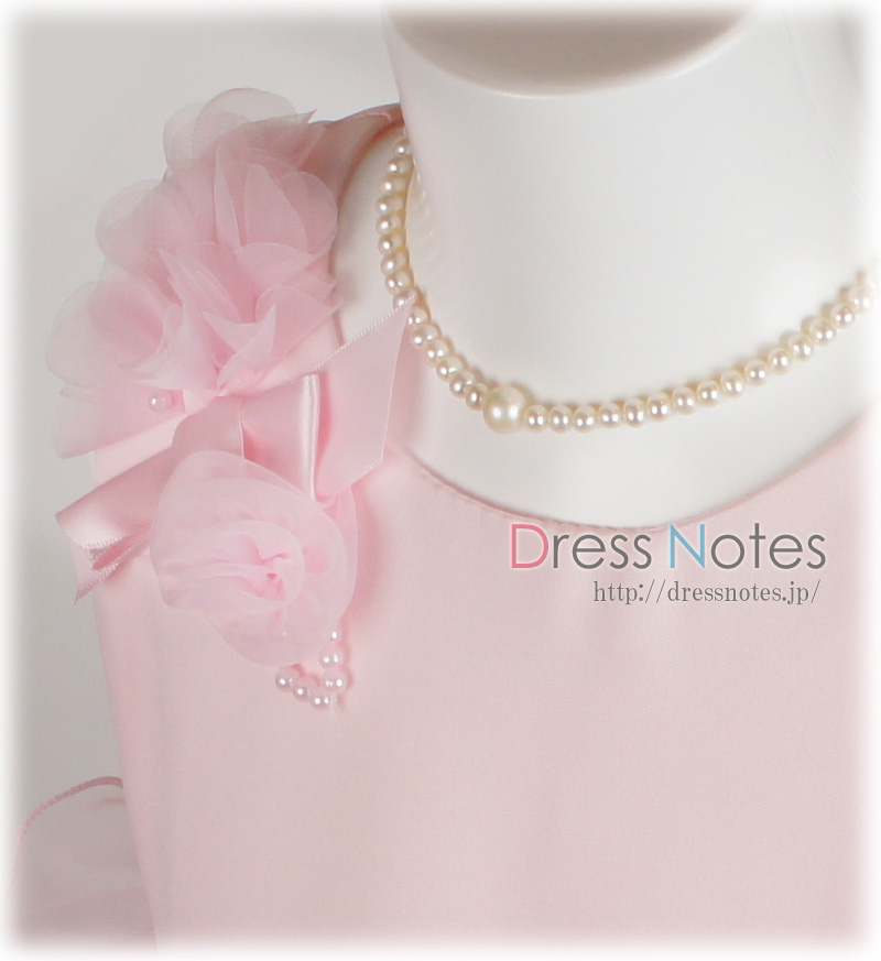 子供ドレス「ジュジアーノ」ピンク G8022-2