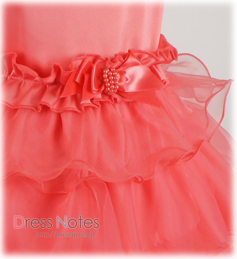 子供ドレス「コンチェルティーノ」ピンク G8024-2