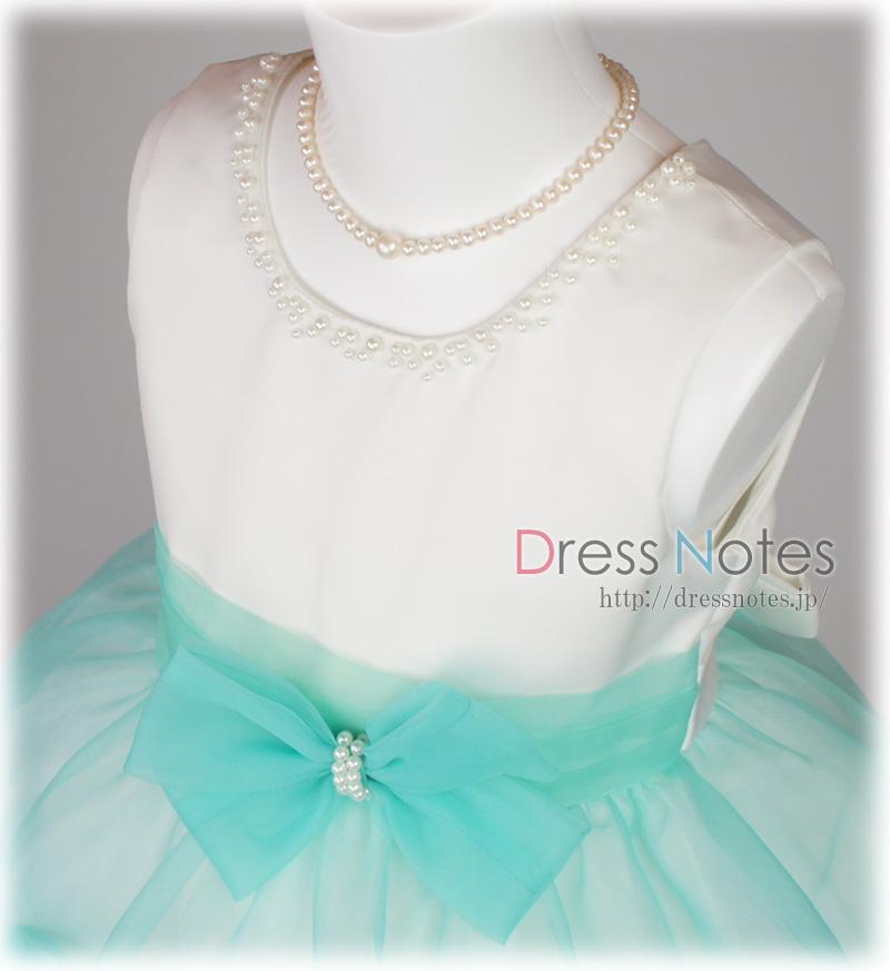 子供ドレス「バダジェフスカ」グリーン G8030-1