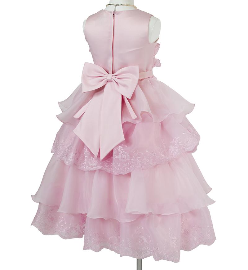 子供ドレス「リエラ」ピンク-4