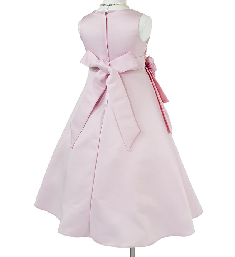 子供ドレス「ノクターン」ピンク-5