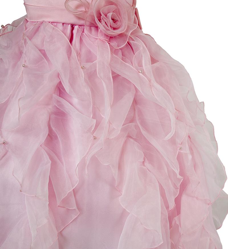 子供ドレス「サイア」ピンク-2