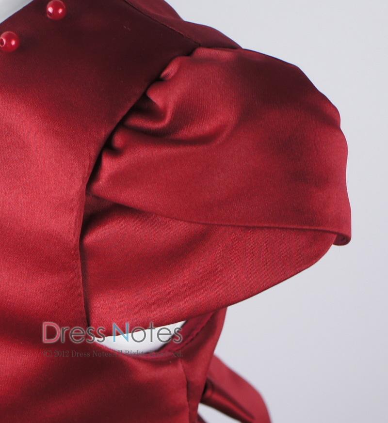 子供ドレス「マスカレード」ワイン D8021-2