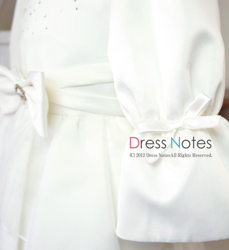 子供ドレス「メレンゲ」ホワイト A8003-3