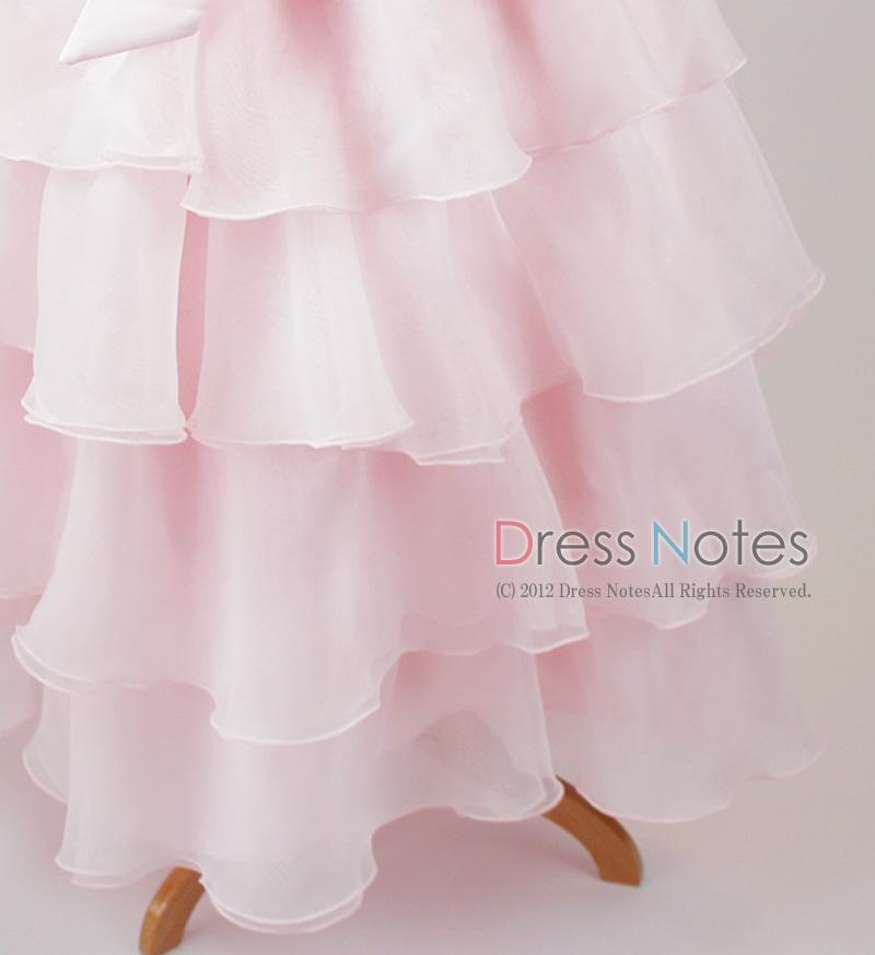 子供ドレス「カンタータ」 ピンク D8004-6