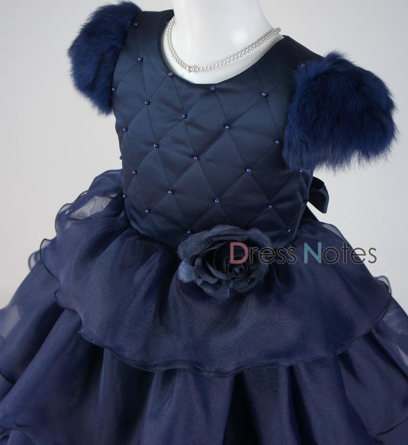 子供ドレス「カンタータ」 ネイビー D8005-1
