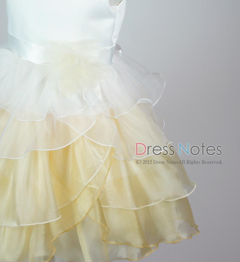 子供ドレス「アリア」シャンパンゴールド D8008-4