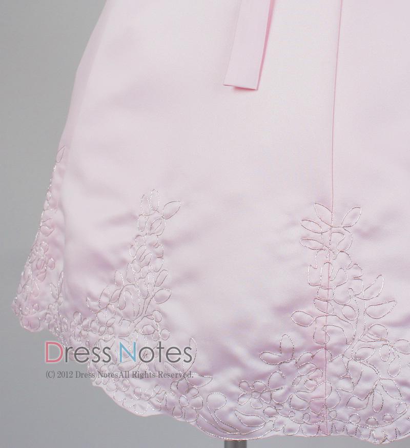 子供ドレス「オラトリオ」ピンク D8010-4
