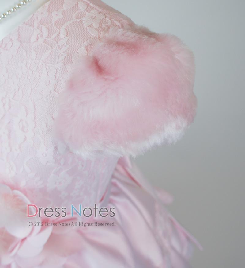 子供ドレス「バラード」ピンク D8019-3