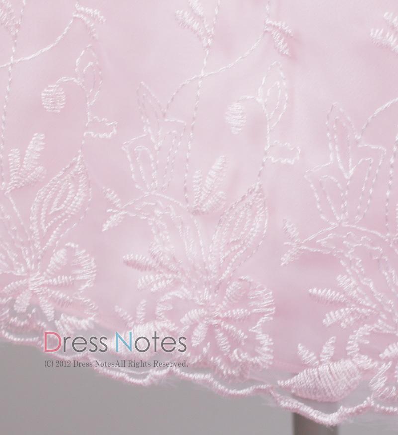 子供ドレス「カノン」ピンク D8012-5