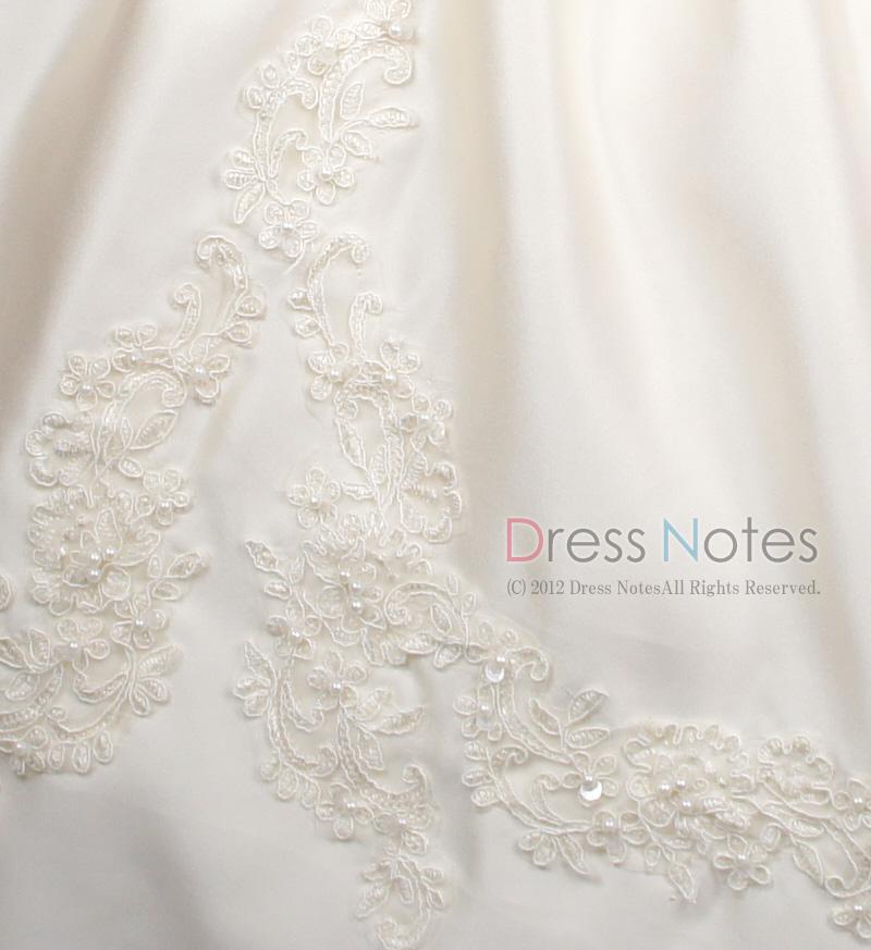子供ドレス「ウノ」アイボリー G8003-3