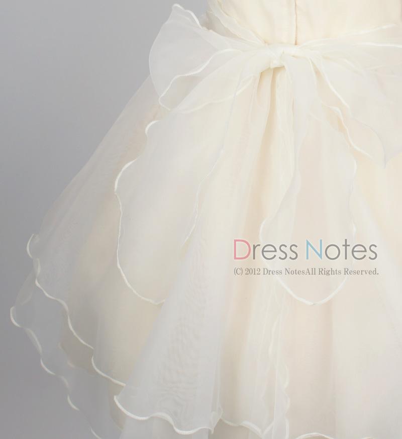 子供ドレス「アイベル」ライトレモン G8007-3