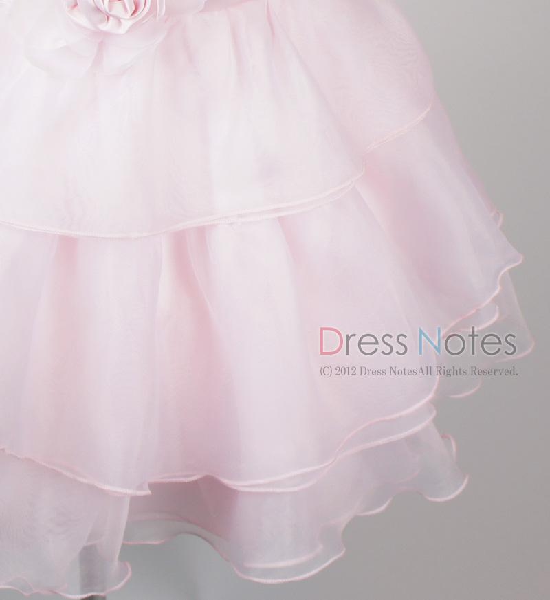 子供ドレス「アルパカドリーム」ピンク G8009-3