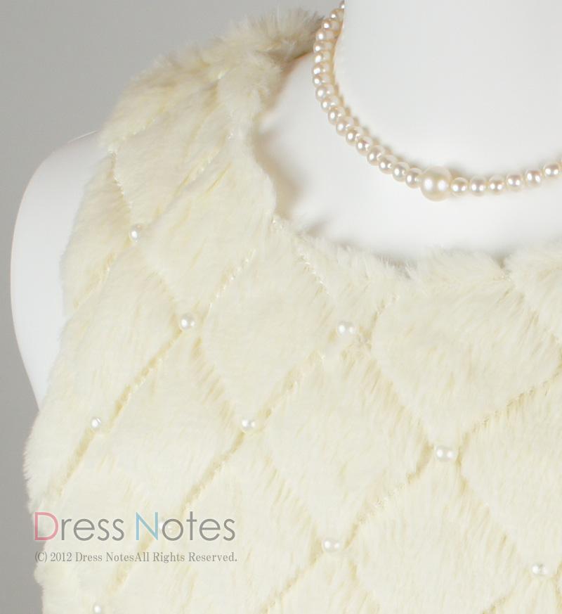 子供ドレス「アルパカドリーム」アイボリー G8010-2